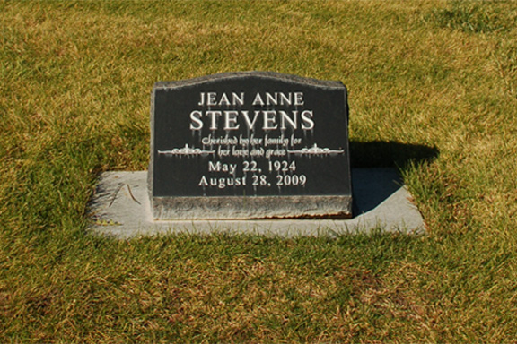 Aunt Jean's Marker
